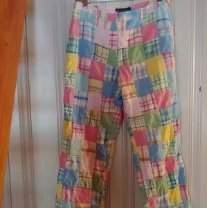 Classic madras summer pants
